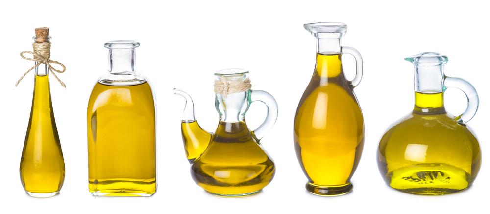 Auswahl an pflanzlichen Ölen