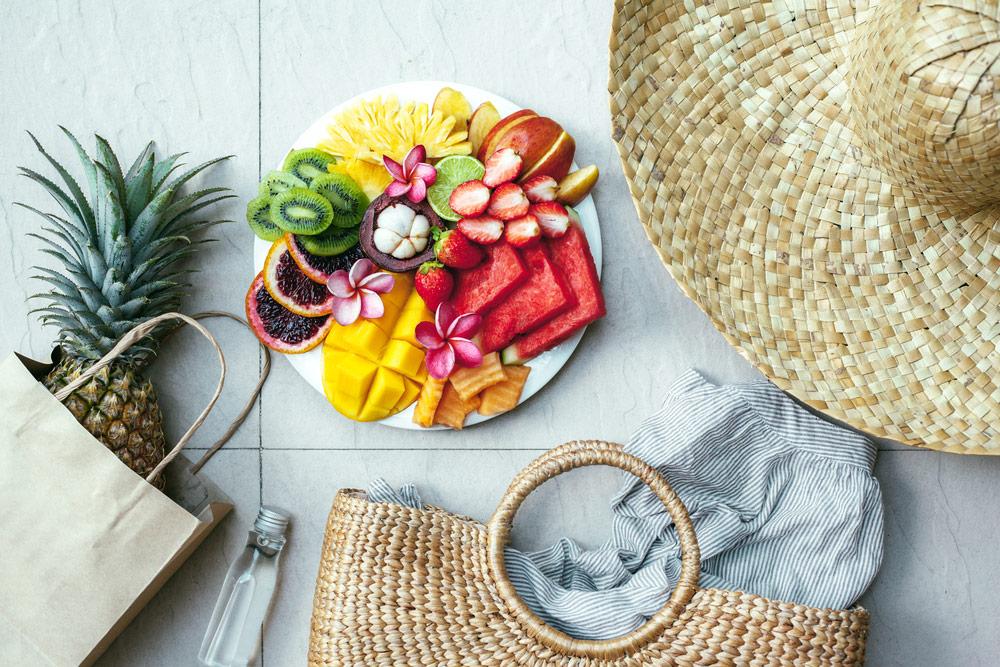 Frischhalten Lebensmittel im Sommer