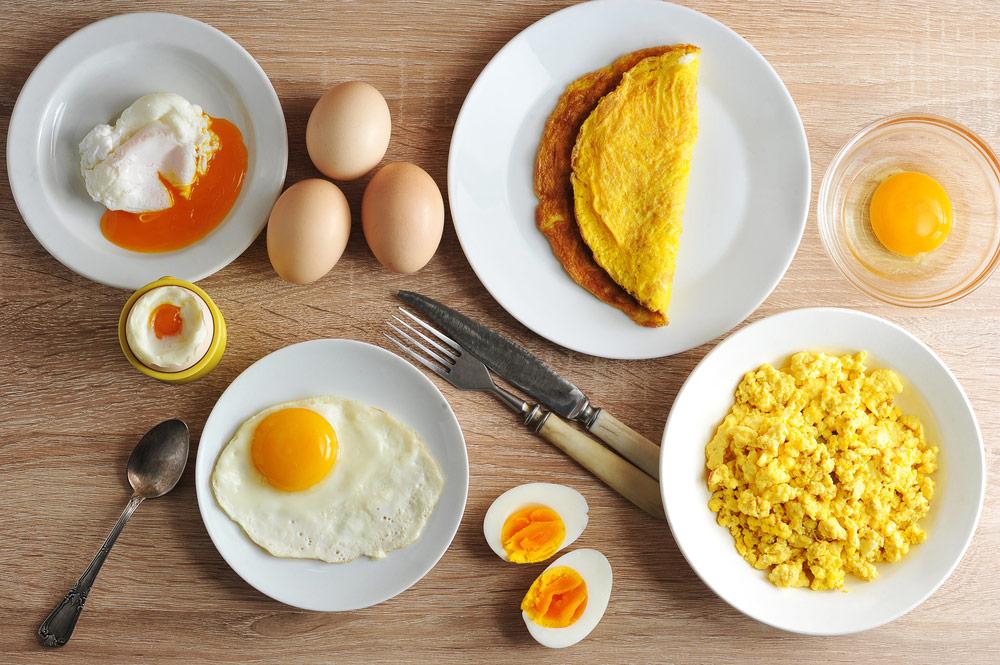 Inhaltsstoffe von Eiern