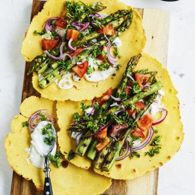 Spargel Tortilla